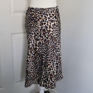 Leopard print skirt (s)